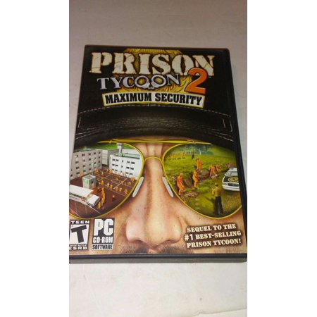 Prison Tycoon 2: Maximum Security PC (Railroad Tycoon 3)