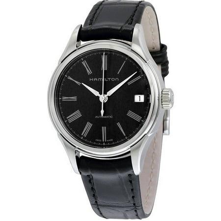 Hamilton Classic Valiant Leather Automatic Ladies' Watch, H39415734 (Lady Hamilton Watch)