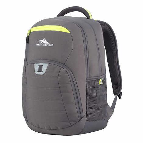 d7e249385 High Sierra - High Sierra RipRap Backpack (GRAY) - Walmart.com