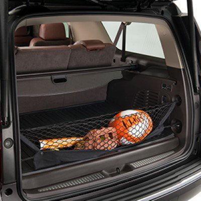 Envelope style trunk cargo net for Chevrolet Tahoe LS LT PPV Premier SSV  2015 2016 2017 2018 2019