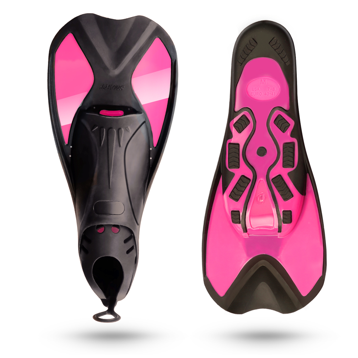Dive Fins Divers Training Dive Fins Dual Swimming Split Fins