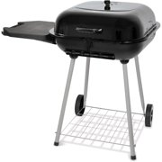 """22"""" Charcoal Grill, Black"""