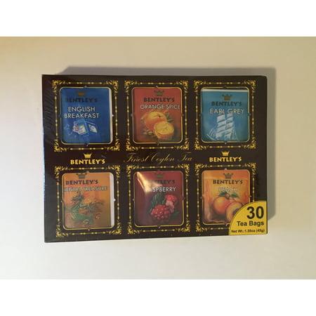 Bentleys Finest Tea - Bentley's finest Ceylon tea sampler 30 tea bags