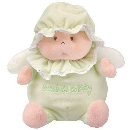 - Baby TY - BLESSINGS TO BABY the Angel Bear (green) (10 inch)
