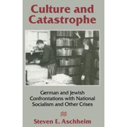 German and Jewish Confrontations of National Socialism and O: Culture and Catastrophe: German and Jewish Confrontations with National Socialism and Other Crises (Paperback)