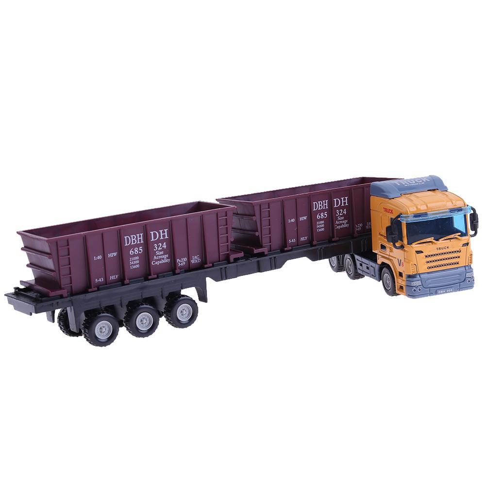 1:48 European Transport Container Alloy Truck Model Car Toy Simulation Car //Neu