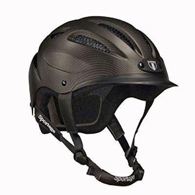Equestrian Helmet - tipperary sportage equestrian sport helmet, large, cocoa brown