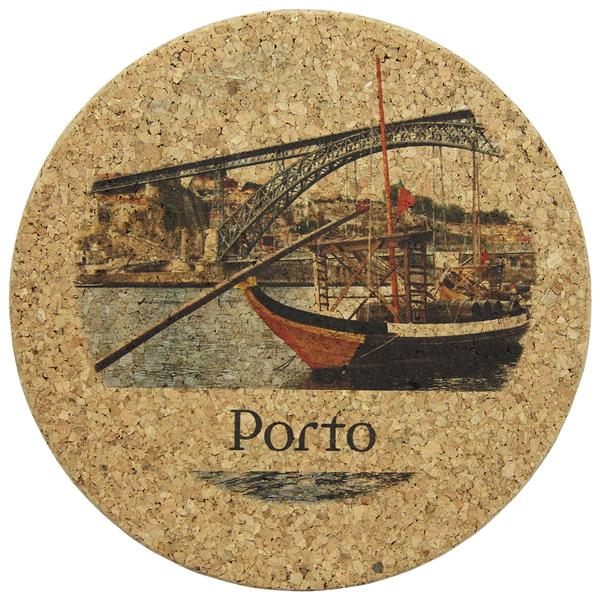 Big Round Cork Trivet Portugal Themed Various Designs