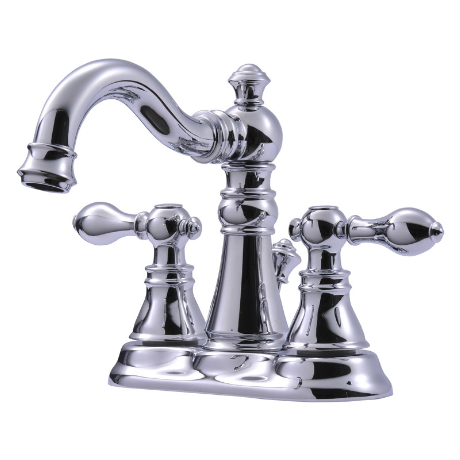Ultra Faucets UF45115 2-Handle Oil Rubbed Bronze Victorian Lavatory Faucet