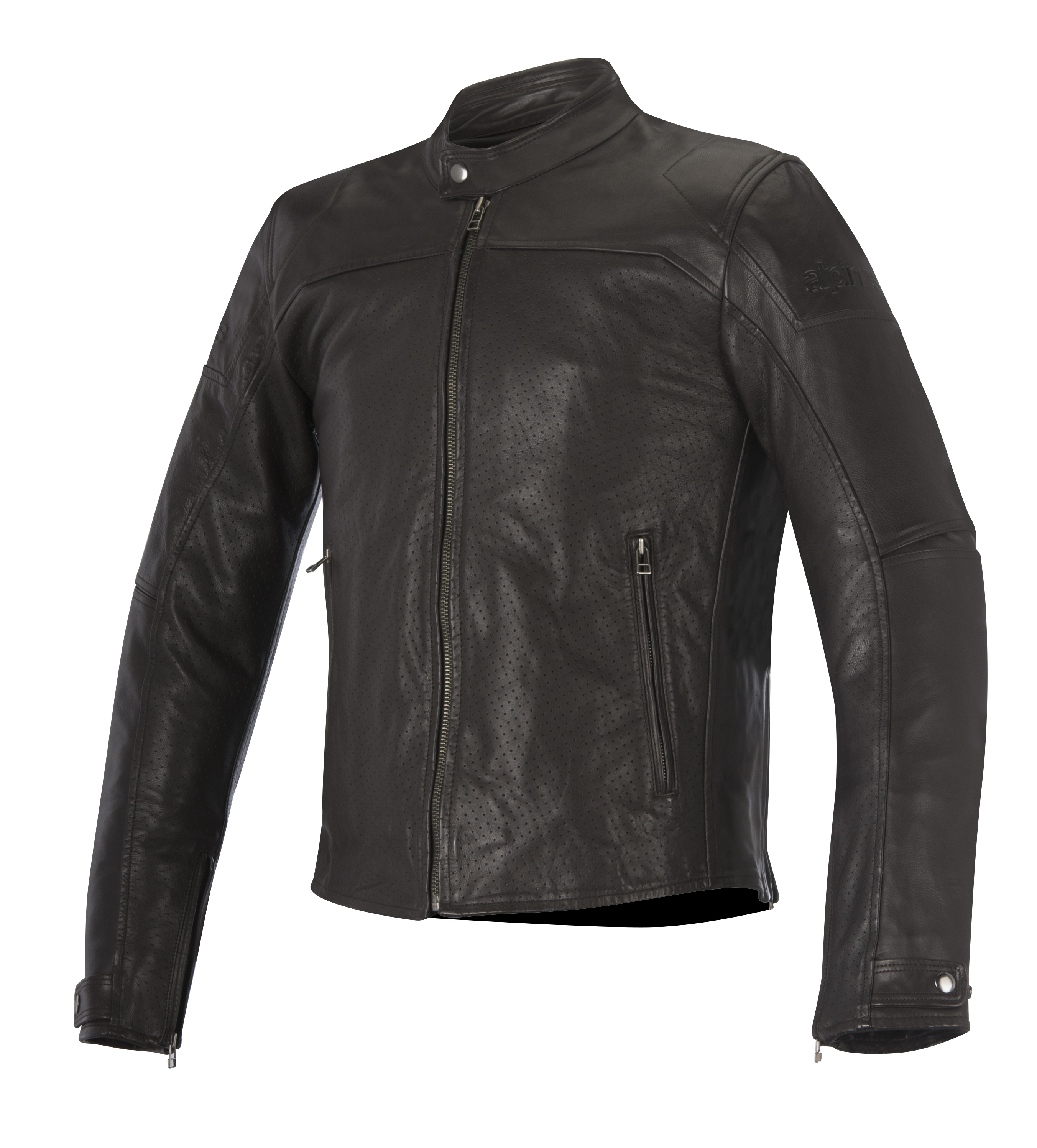 Alpinestars Brera Airflow Mens Leather Jacket Brown