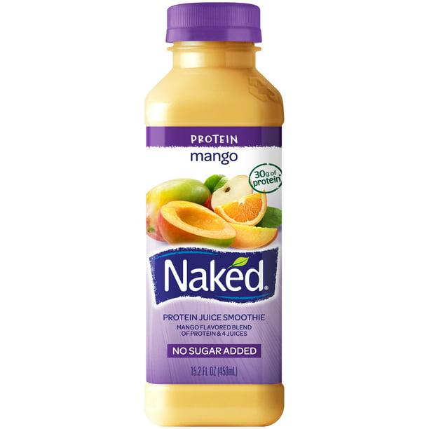 Naked Juice Protein Smoothie, Protein Zone, 15.2 oz Bottle