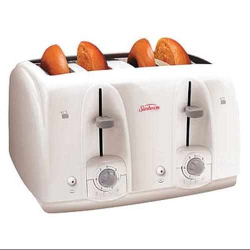 SUNBEAM 3823-100 Toaster,4-Slice,White