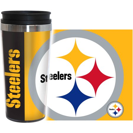NFL Pittsburgh Steelers 2-Pack Hype Travel Tumbler by