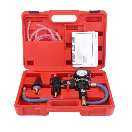 Carrying System (Quickly Refill Tool with Coolant Hilitand Cooling System Vacuum Purge & Coolant Refill Kit with Carrying Case for Car SUV Van Cooler )