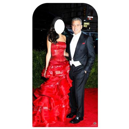 Star Cutouts CS635 71 in. George Clooney Stand In Cardboard Cutout - image 1 of 1