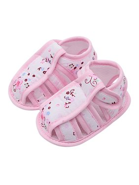 25b0fa61d060 Product Image Babula Baby Girl Summer Flower Print Anti-slip Soft Sole  Sandals
