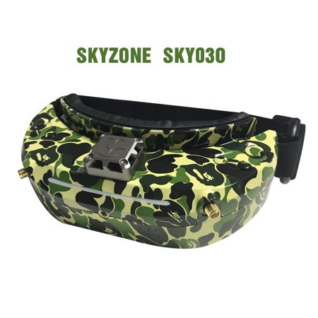SKYZONE SKY03O 5.8GHz 48CH Diversity FPV Goggles Support HDMI Head Tracking with Fan DVR Front Camera For RC Drone - image 4 of 7