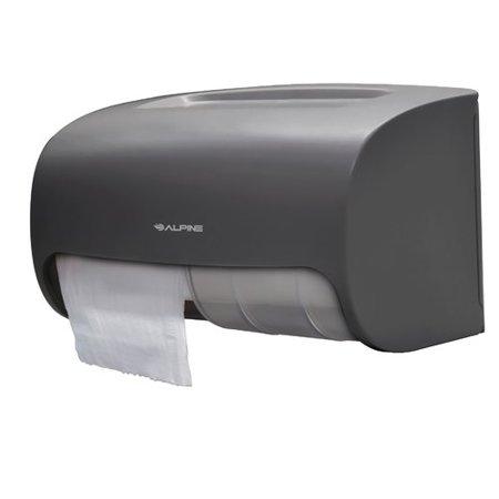 Stub Roll Dispenser (Alpine Industries Side-by-Side Double Roll Toilet Paper Dispenser )