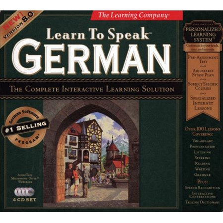Learn to Speak German 8.0 (Win95/98) - image 1 of 1