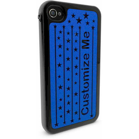 new style 9b58a 25900 iPhone 4 and 4s Customized Phone Case - Stars Card Stand Design