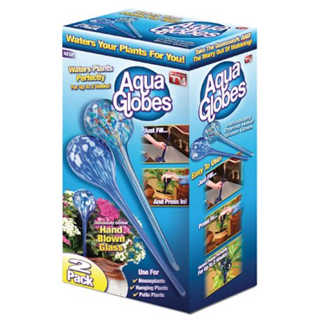 Aqua Globe Plant Waterer, Large, - 100 Glass Globe