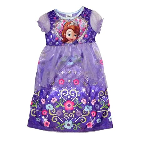Disney Sofia the First Floral Nightgown Dress
