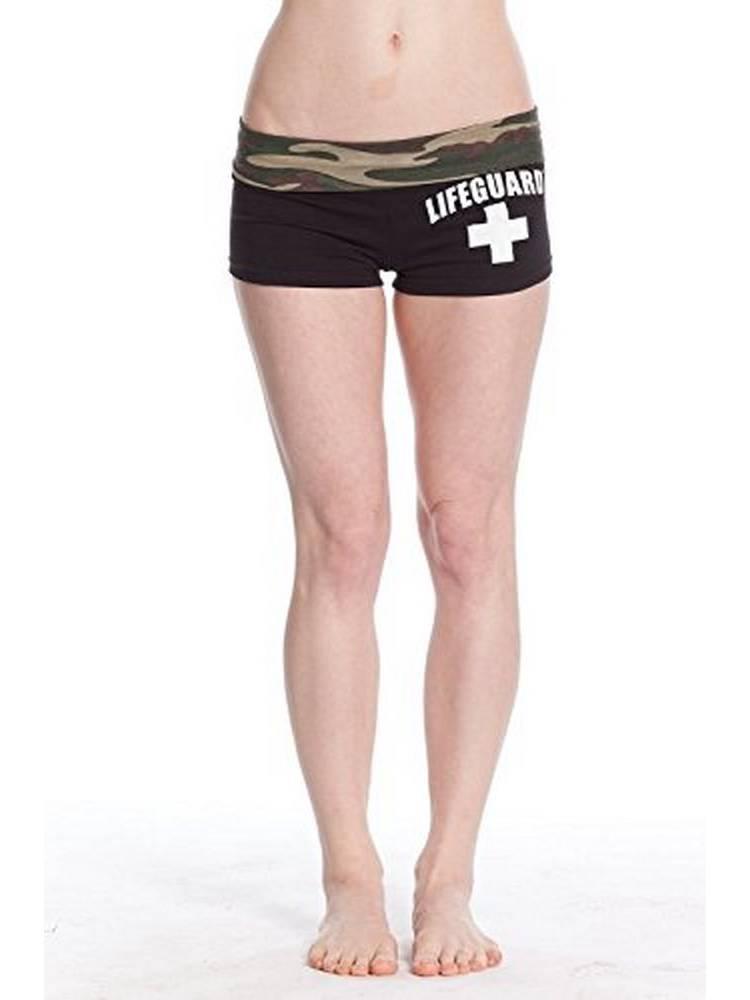 Official Lifeguard Girls Camouflage Capri Sweatpants