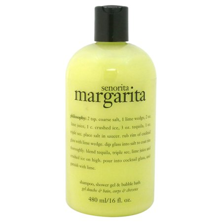 - Philosophy Senorita Margarita Shampoo Shower Gel & Bubble Bath, 16 Oz