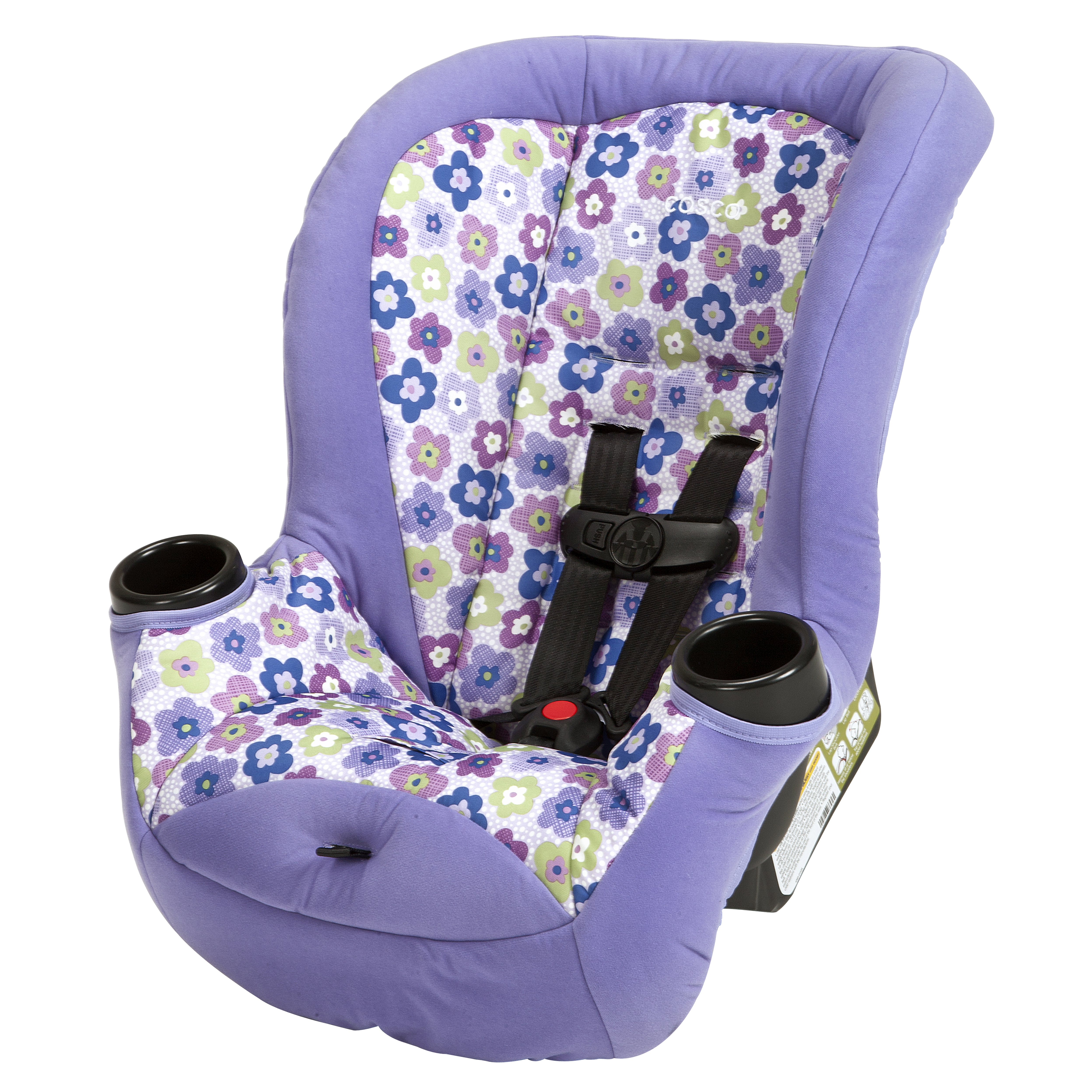 Cosco – Apt 40RF Convertible Car Seat – Rear & Forward Facing Safety Seat – Side Impact Protection – 5-Point Harness