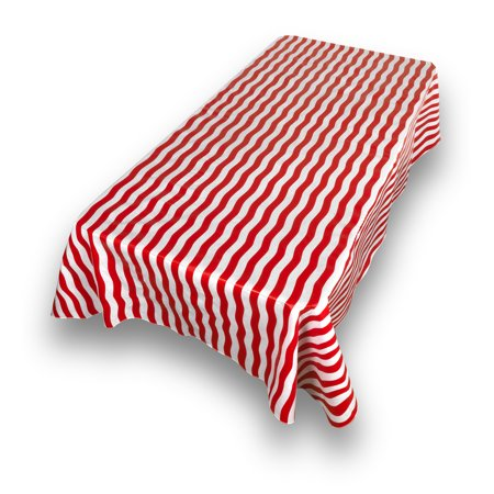 Red Vinyl Tablecloths (Carnation Home Fashions