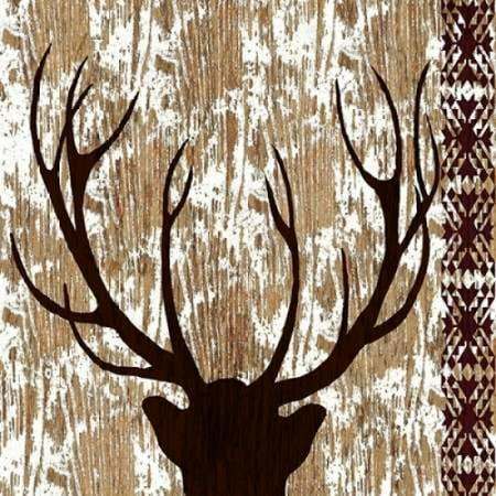 Wilderness Deer Poster Print by Nicholas Biscardi