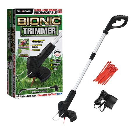Bionic Trimmer - The Rechargeable Portable Garden Trimmer & Weed Wacker, Foldable & Ultra Compact, As Seen on TV!