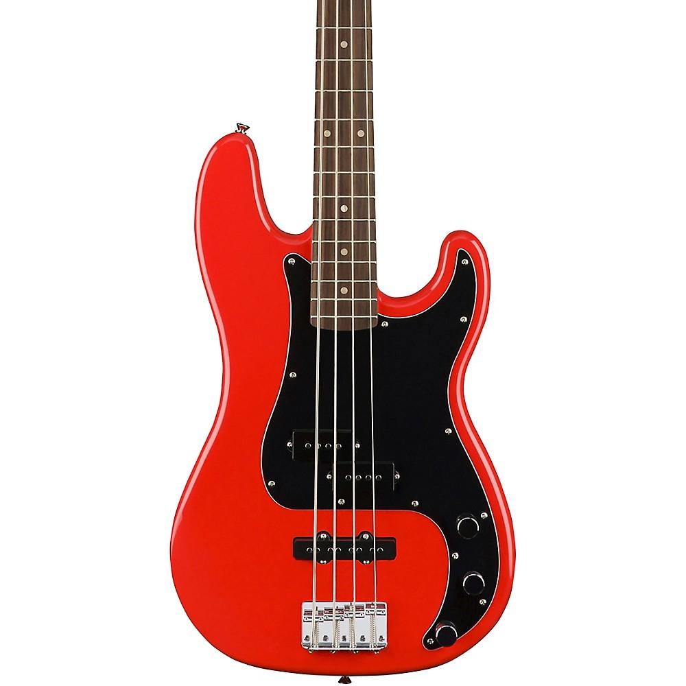 Fender Squier Affinity Series Precision Bass PJ, Laurel Fingerboard, Race Red