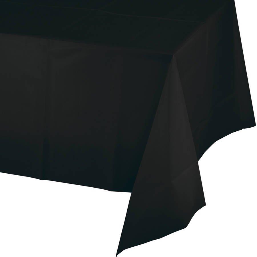 Superbe Black Velvet Table Cover