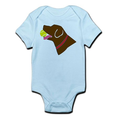 Infant Baby Chocolate (CafePress - Chocolate Lab Infant Bodysuit - Baby Light Bodysuit )
