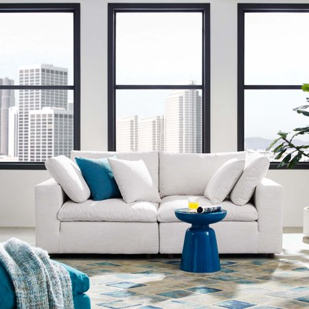 Commix Down Filled Overstuffed 2 Piece Sectional Sofa Set in