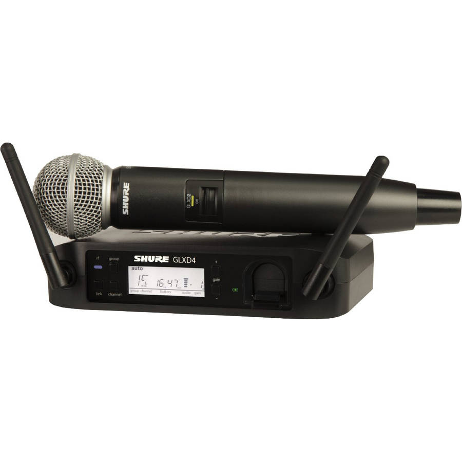 Shure GLX-D Digital Wireless System for SM58 Handheld Microphone by Shure