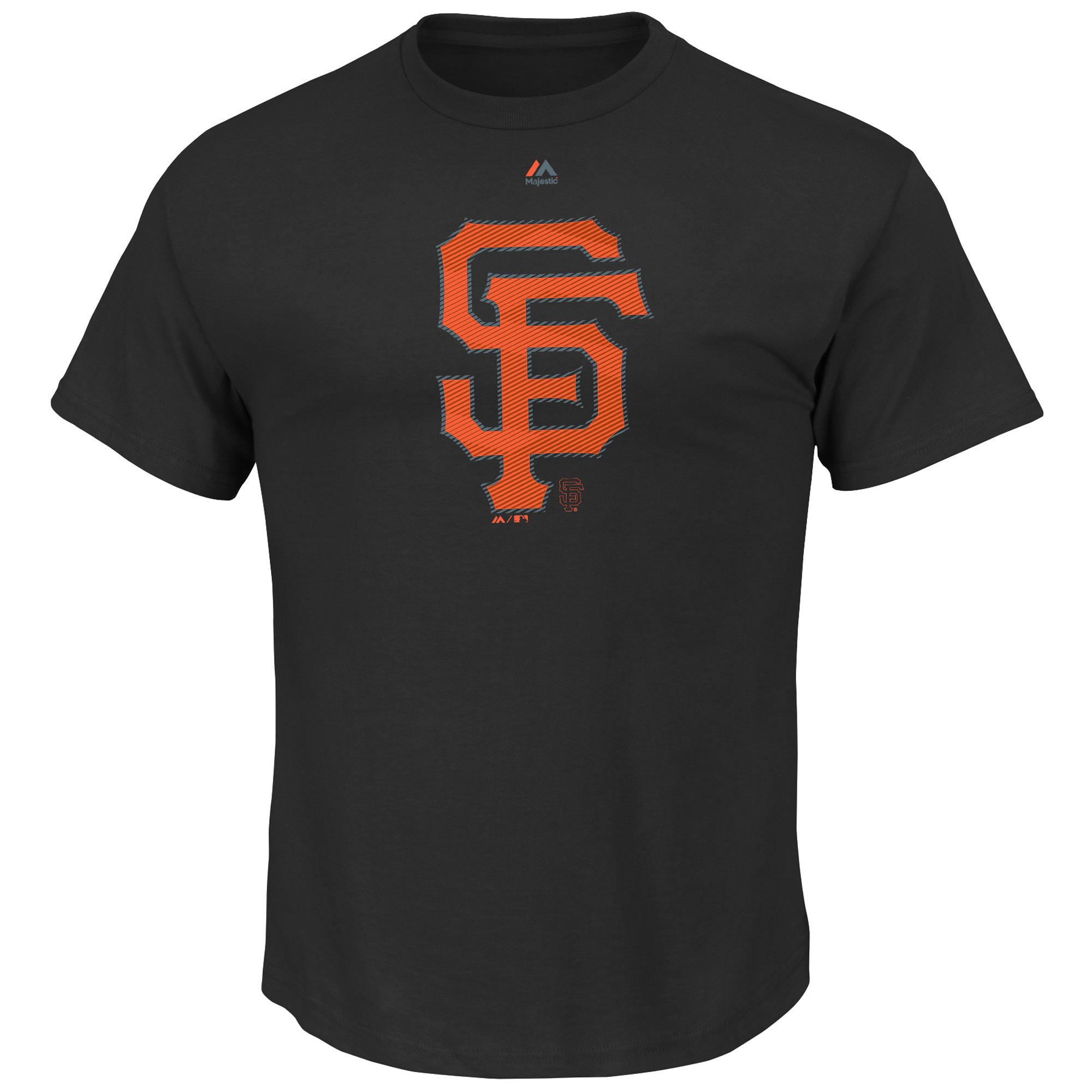 San Francisco Giants Majestic Superior Play T-Shirt - Black