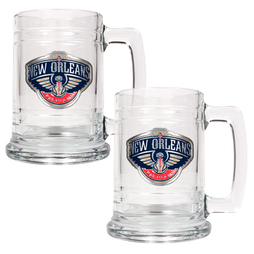 New Orleans Pelicans 2-Piece 15oz. Tankard Set - No Size