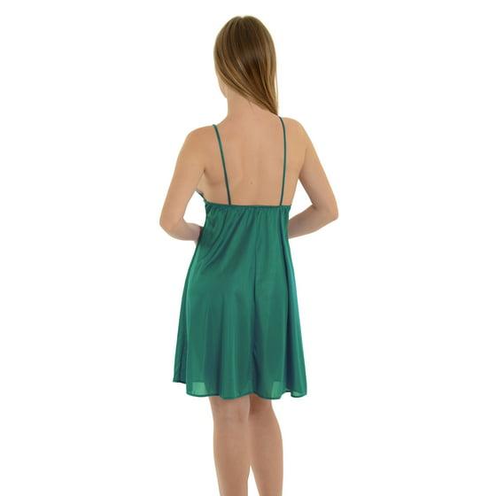 1e5bd4cc8c6dc Romance - Plus Size Chemise Nightgown Sheer Floral Lace Cups Jade ...