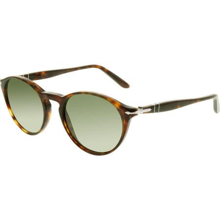 Persol Men's PO3092SM-901531-50 Tortoiseshell Round (See Through Clothes Sunglasses)