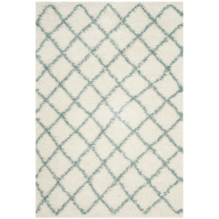 Safavieh Layla Geometric Plush Shag Area Rug or Runner