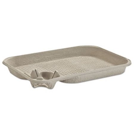 Chinet StrongHolder Molded Fiber 1 Cup/Food Tray, 200 Trays (HUH20961CT)