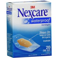 Nexcare Waterproof Stays On Bandages One Size 20 Each