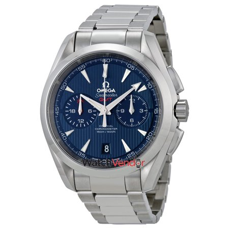 Omega Seamaster Aqua Terra Chronometer Blue Dial Men's Watch 231.10.43.52.03.001 - image 3 de 3
