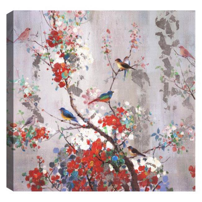 Art Maison Canada UNBIMP5171ONL 36 x 36 in. Spring Tree Flowers Floral Canvas Print Wall Art - image 1 of 1