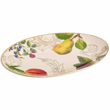 - BonJour Dinnerware Orchard Harvest Stoneware 8-3/4