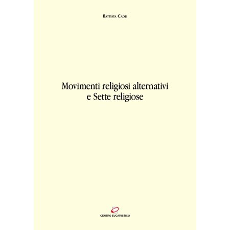Movimenti religiosi alternativi e Sette religiose - Volume - eBook - Costumi Alternativi Halloween