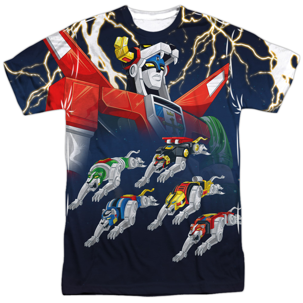 Voltron Boltron (Front Back Print) Mens Sublimation Shirt