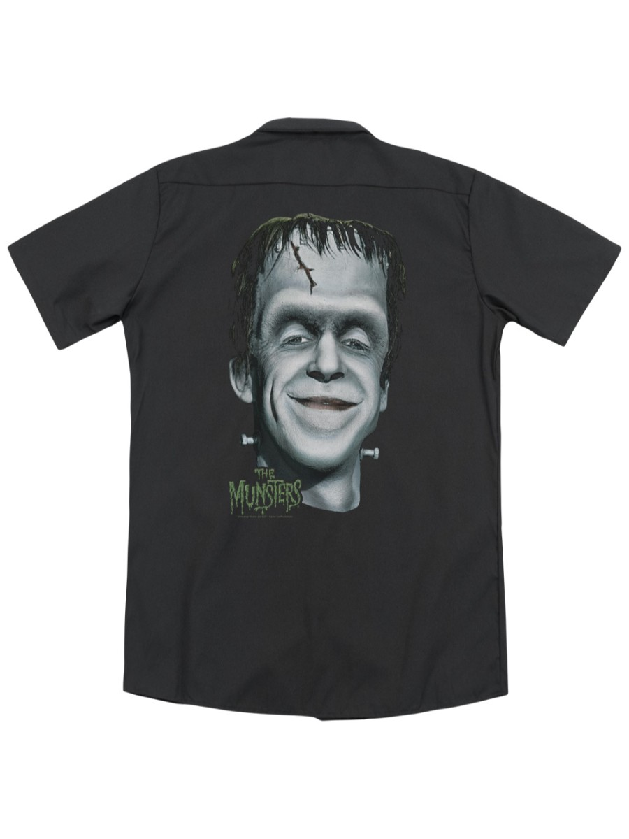 Munsters TV Show BIG HERMAN/'S HEAD Picture Adult T-Shirt All Sizes